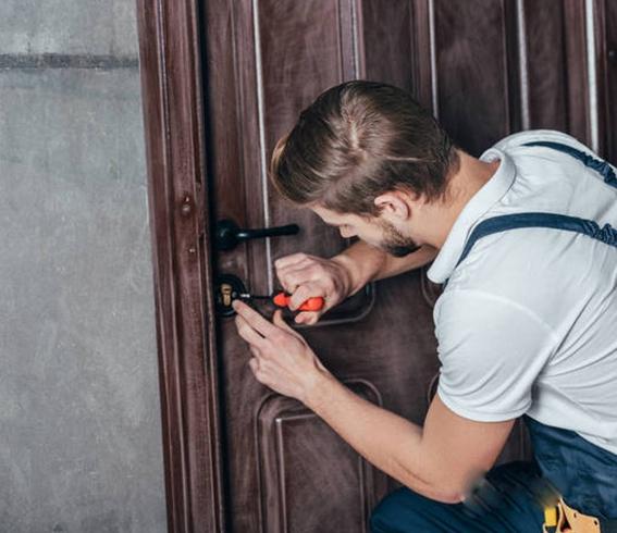 防盗锁开锁